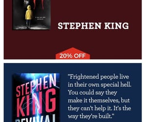 books, quotes, and Stephen King image