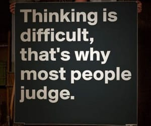 quotes, judge, and think image