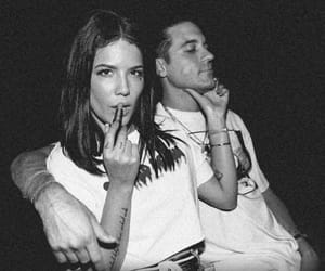 couple, halsey, and g-eazy image
