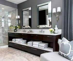 bathroom, black, and goals image