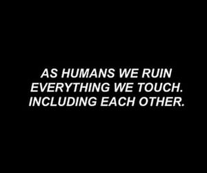 quotes, black, and humans image