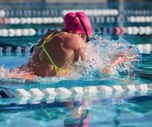 active, passion, and swim image
