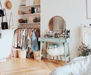 apartment, bedroom, and minimalist image