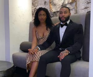 couples, dressy, and black love image