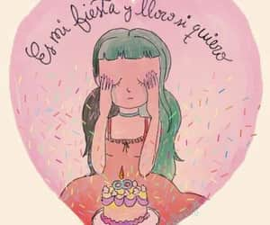 cake, cry, and llorar image
