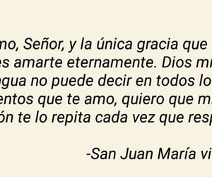 quote, amor eterno, and santo image