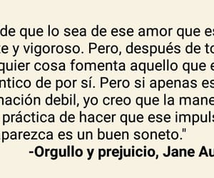 jane austen, quote, and orgullo y prejuicio image