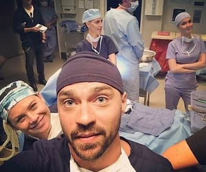 grey's anatomy, ellen pompeo, and jesse williams image