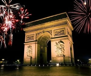 arc de triomphe, Champs-Elysees, and paris image