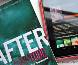 after, anna todd, and book image