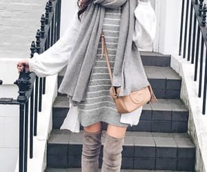 fashion, model, and winter style image