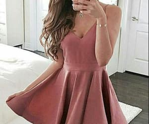 red homecoming dress, homecoming dress short, and a-line homecoming dress image