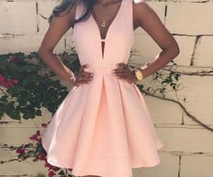 prom dresses, pink homecoming dresses, and custom homecoming dresses image