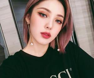 makeup, pony, and korean image