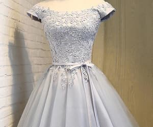 cute homecoming dresses, grey homecoming dresses, and a-line homecoming dresses image