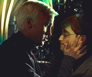 draco malfoy, drarry, and gif image