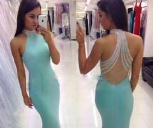 green prom dresses, evening dresses mermaid, and custom prom dresses image
