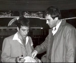 al pacino, behind the scenes, and tony montana image