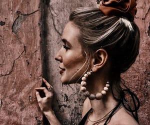 blonde, boho, and fashion image