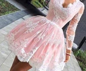 white prom dresses, lace prom dresses, and prom dresses with sleeves image