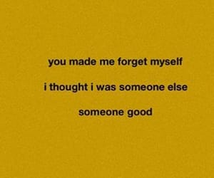 aesthetic, quote, and yellow image