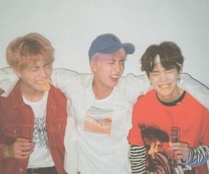 bts, jin, and suga image