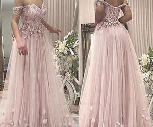 lace prom dress, prom dress 2018, and cheap prom dress image