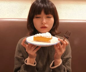cake, girl, and 女の子 image