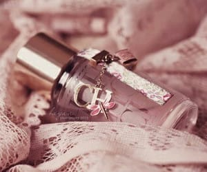 pink, perfume, and ch image