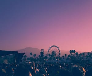 coachella, summer, and festival image