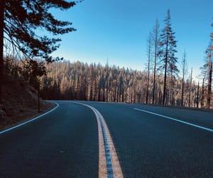 nature, Road Trip, and yosemite image