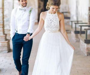 white lace party dress, simple party dress, and sexy wedding dresses image