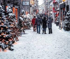 canada, christmas, and city image
