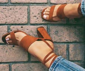 beautiful, heels, and high heels image