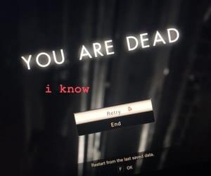 dark, Darkness, and dead image