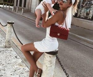 fashion, family, and girl image