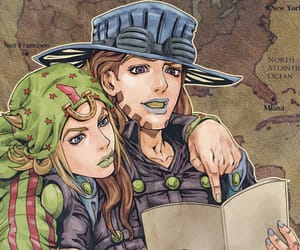 anime, gyro zeppeli, and manga image