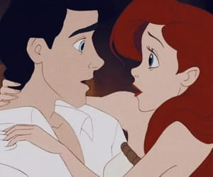 disney, ariel, and eric image