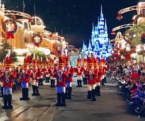 christmas, disney world, and disney christmas image
