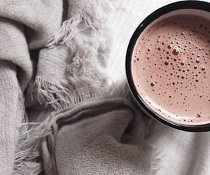 coffee, winter, and grey image