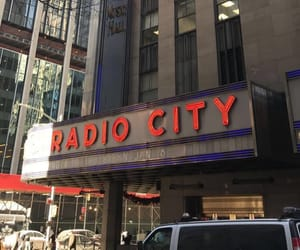 daytime, nyc, and radio city image