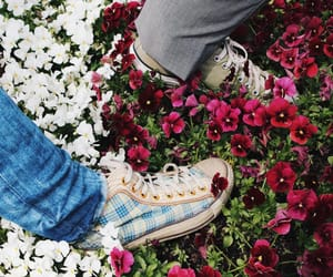 90s, flowers, and nature image