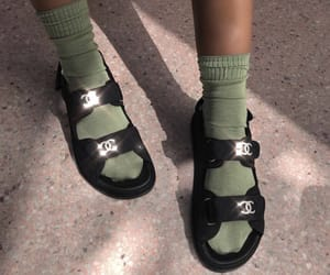 chanel, aesthetic, and green image