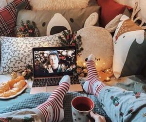 christmas and cozy image