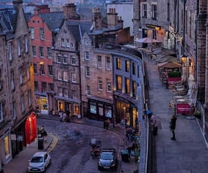 edinburgh, photography, and travel image