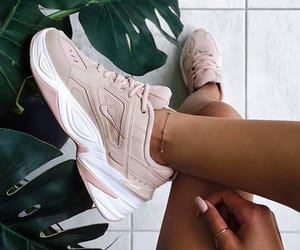nature, nike, and shoes image