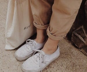 beige, shoes, and clothes image