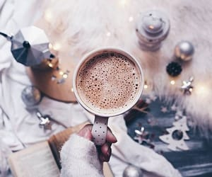 coffee, cozy, and holiday image