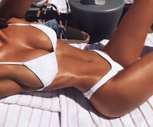 body, girl, and summer vibes image