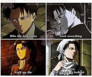 anime, Erwin, and mikasa image